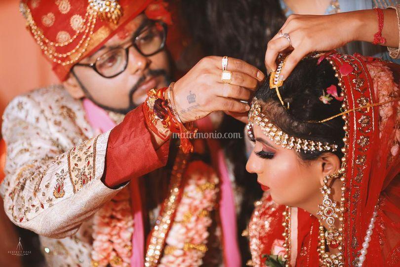 Hidu sindur ceremony