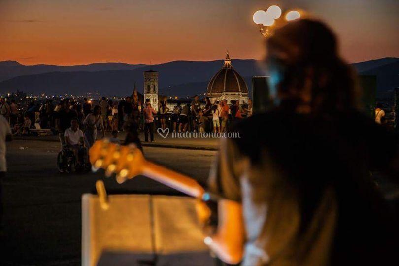 Live in Piazzale Michelangelo