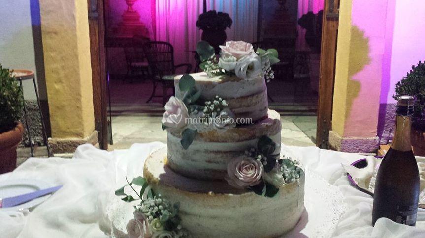Weddin grazie cake