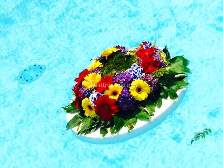 Domus augusta for Decorazione floreale