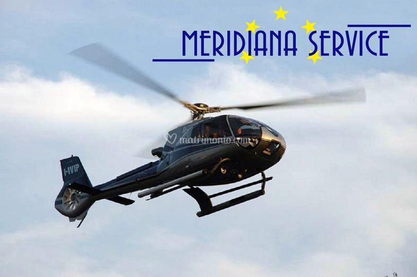 Elicottero 7 Posti : Meridiana service