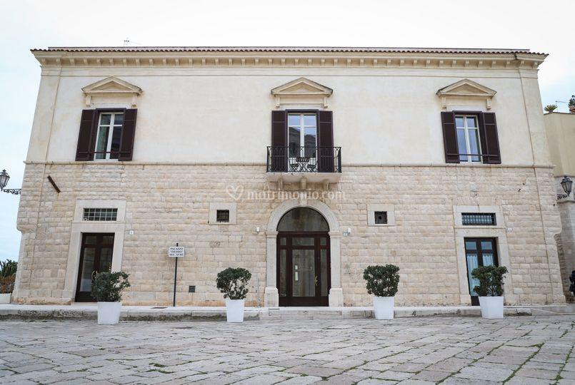 Facciata Palazzo Filisio Hotel
