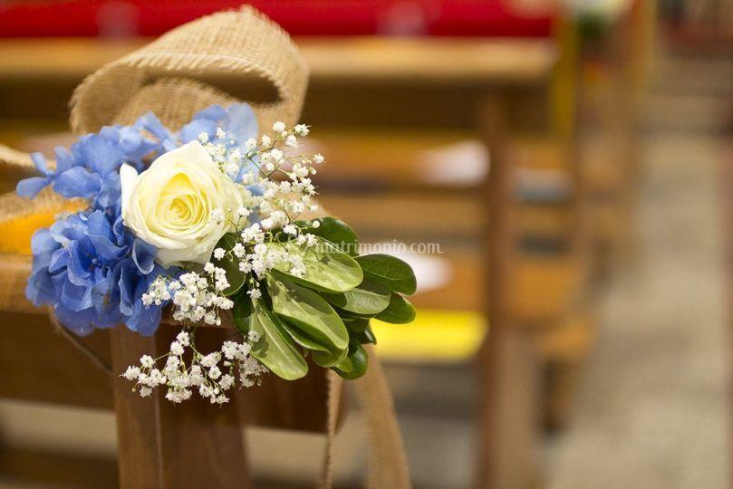 Bouquet per panche