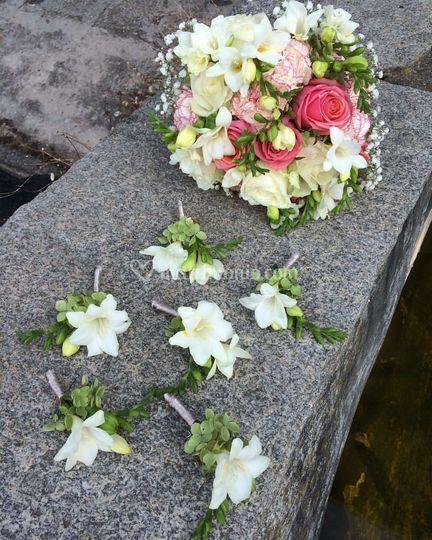 Bouquet e bottoniere