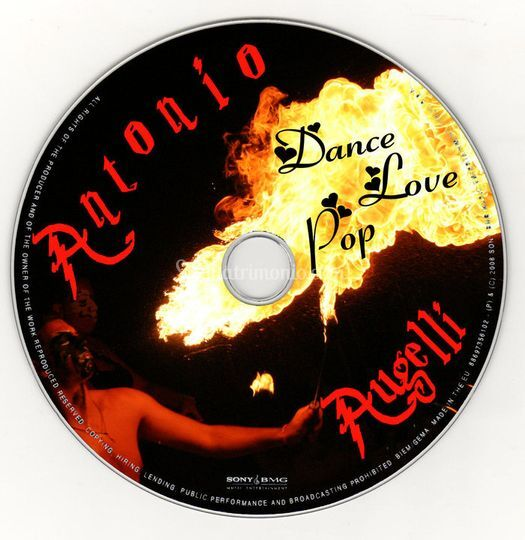 CD Dance Love Pop