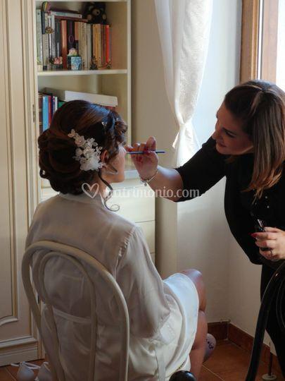 Make-up sposa