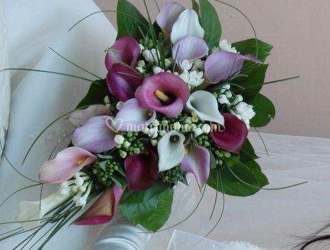 Varietà di bouquet da sposa