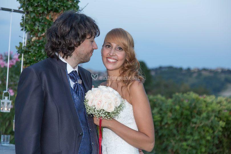 Roberto e Chiara sposi