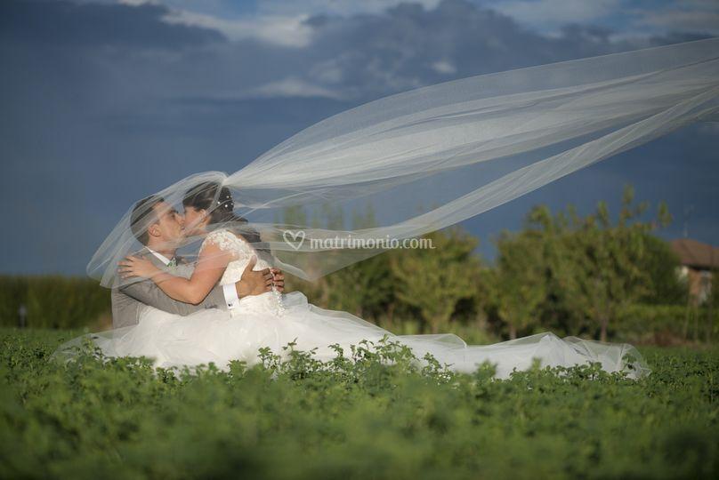 Enea e Silvia sposi