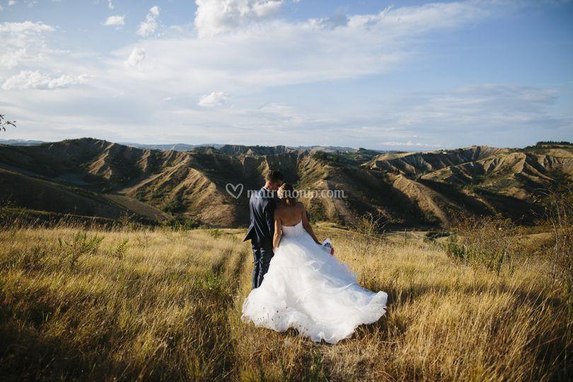 Romantico in collina