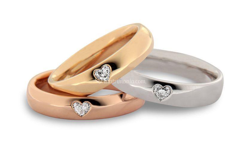 Diamanti taglio cuore