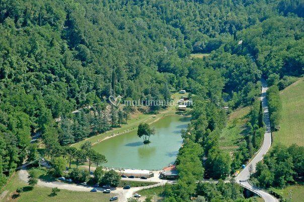 Lago verde aerea