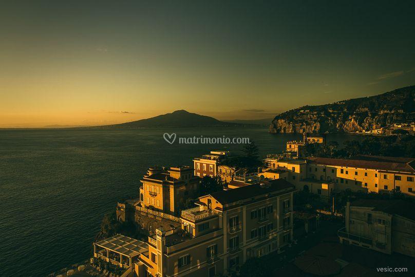 Panorama Sky Bar lato Vesuvio