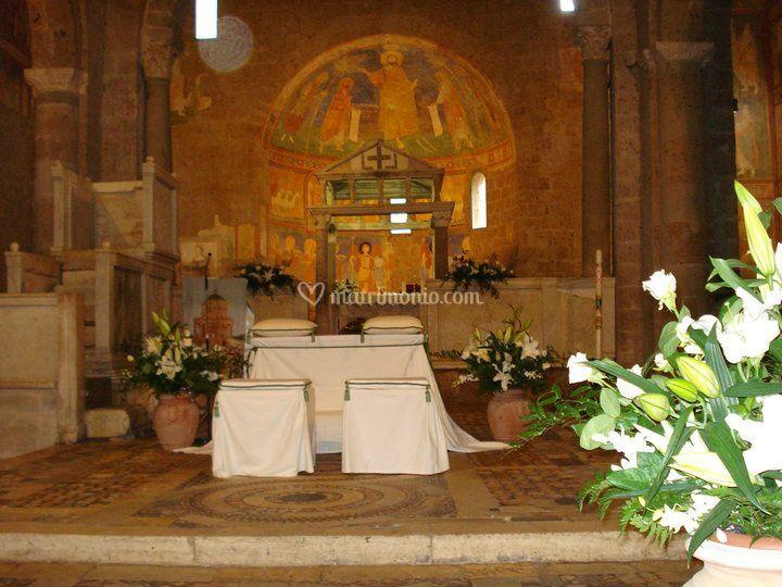 Matrimonio Basilica Castel Sant'Elia 02