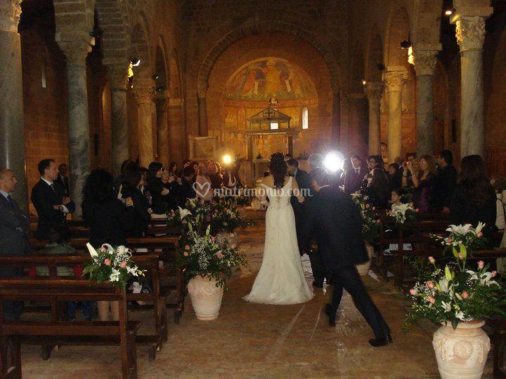 Matrimonio Basilica Castel Sant'Elia 04