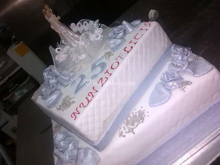 Torta Anniversario Matrimonio Di Dolci Passioni Foto 14