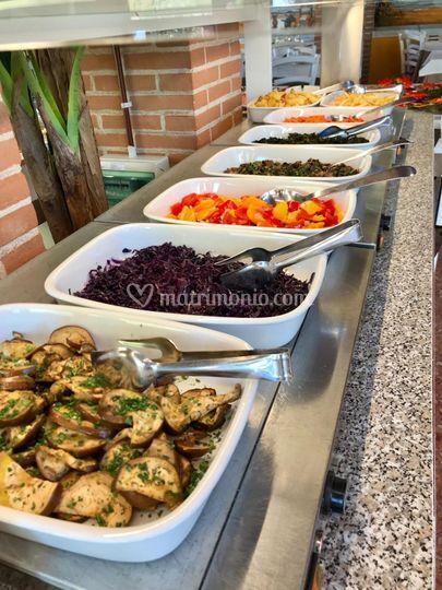 Buffet verdure cotte