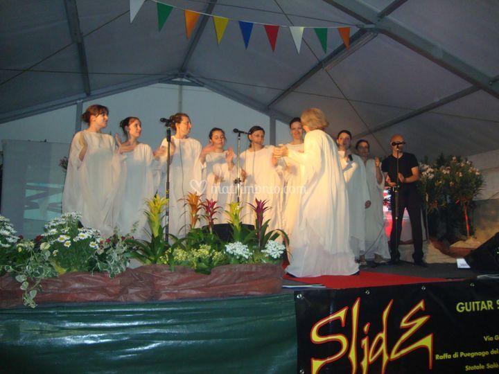 Academy Gospel in  festa