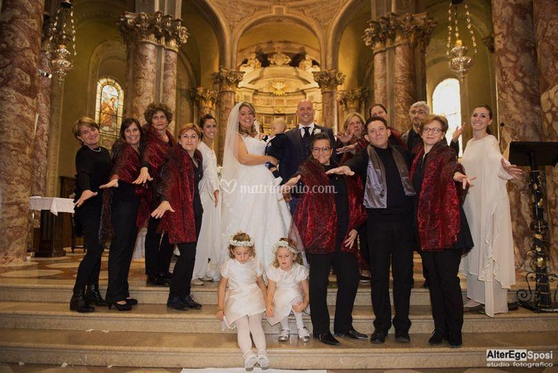 Gospel Ensemble matrimonio