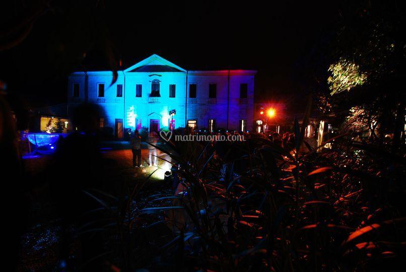 Villa di sera