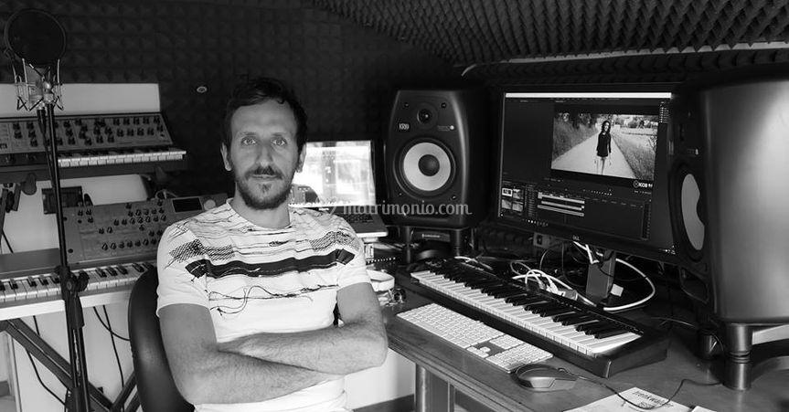 Dj Riccio in studio