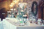 Tavolo reale con rose