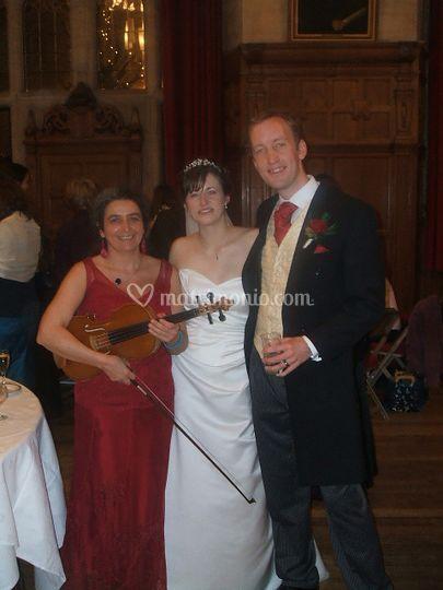 Matrimonio, ricevimento, viola