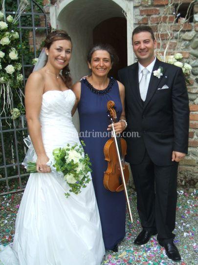 Matrimonio civile con viola