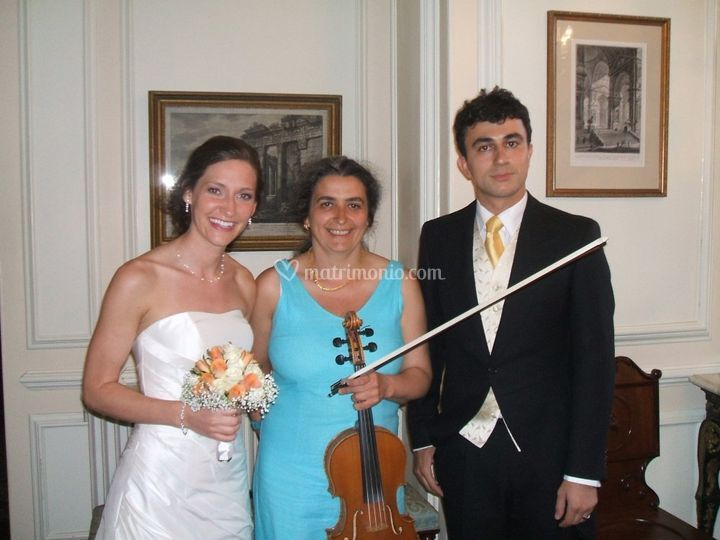 Cerimonia di matrimonio con vi