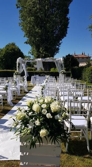 Matrimonio Civile in giardino