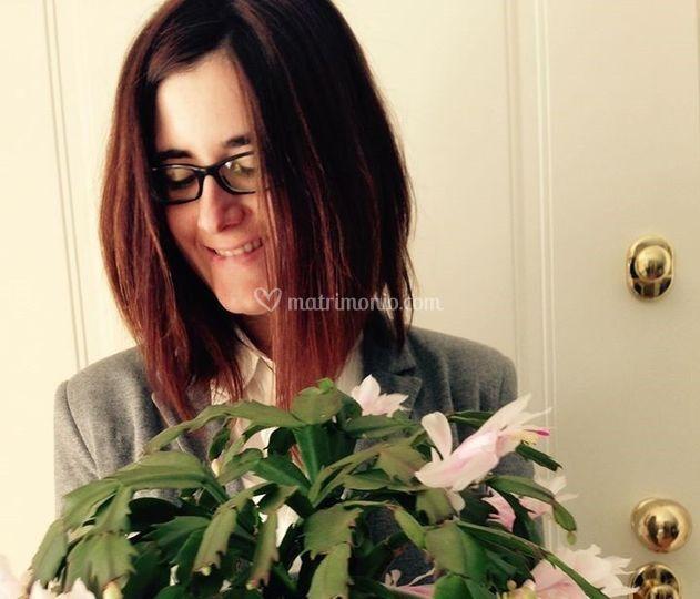 Daniela ed i suoi fiori