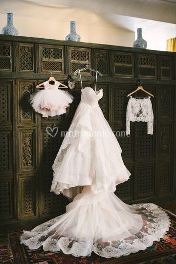 Preparazione - abito sposa