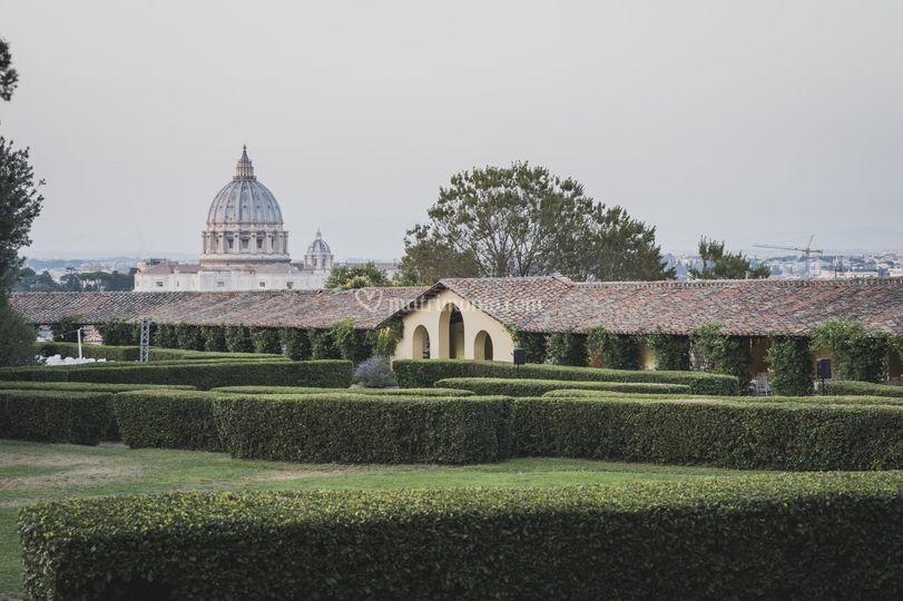 Villa Piccolomini di giorno