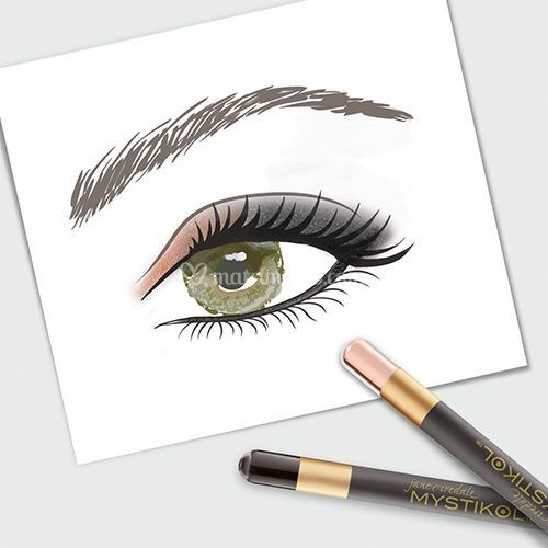 how to draw structures eyebrows