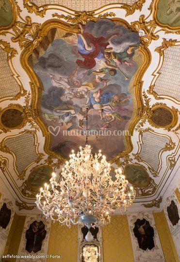 Lampadario Murano Ca Rezzonico.Lampadario Murano Ca Rezzonico Di Palazzo Alliata Di Pietratagliata