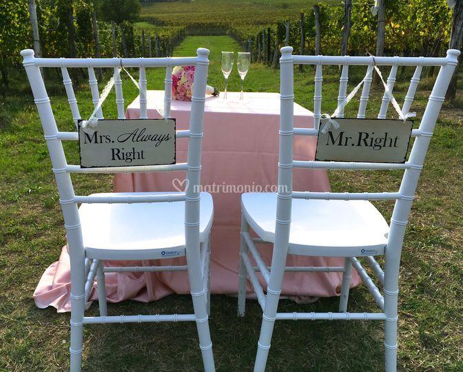 Wedding vineyards