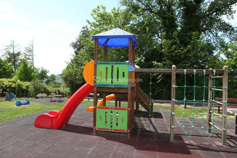 Il parco giochi per bambini
