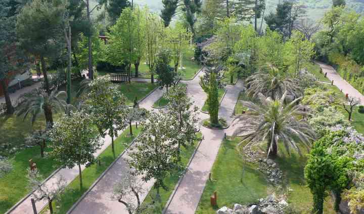 II parco dall'alto