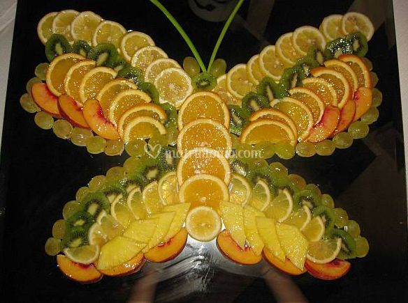 Decorazione con frutta