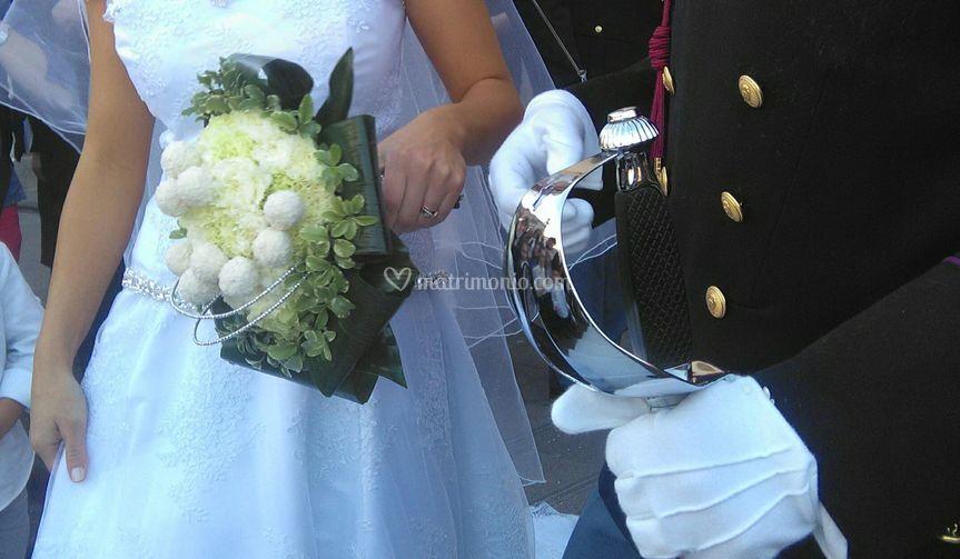 Bouquet con cioccolato bianco