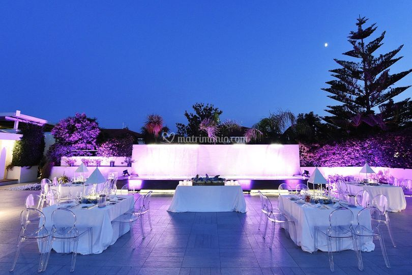 Pool Party Wedding Paestum