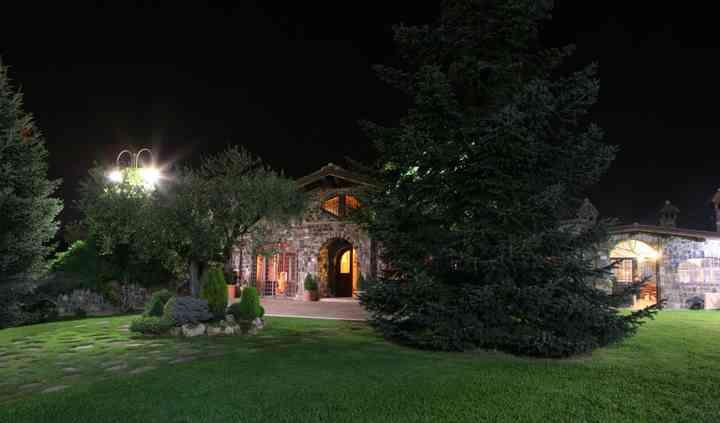 Esterno villa