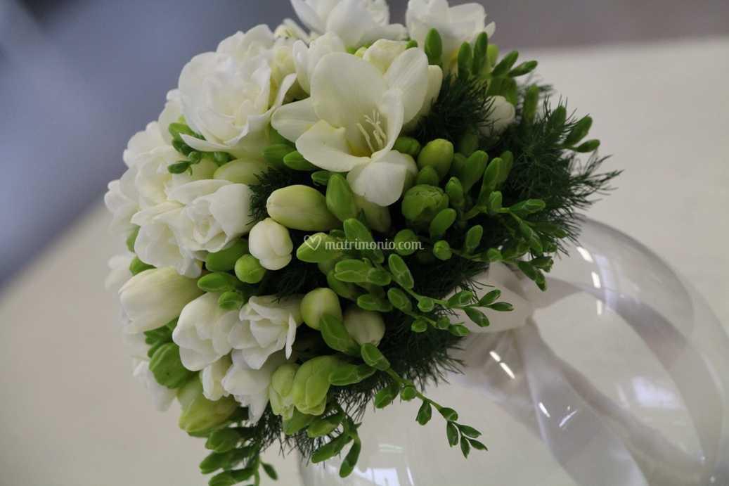 Bouquet Sposa Fresie.Bouquet Di Fresie Di Le Verzeletti Foto 10