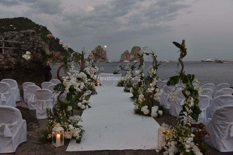 Cerimonia sul mare