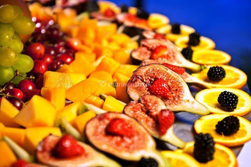 Alzate di frutta fresca