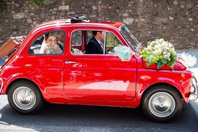 Fiat 500 Storica - rosso Ferrari