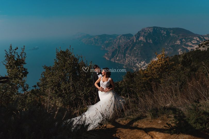 Photographer in Amalfi Coast