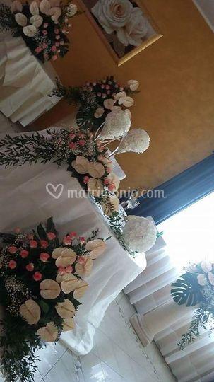 Tavolo degli sposi