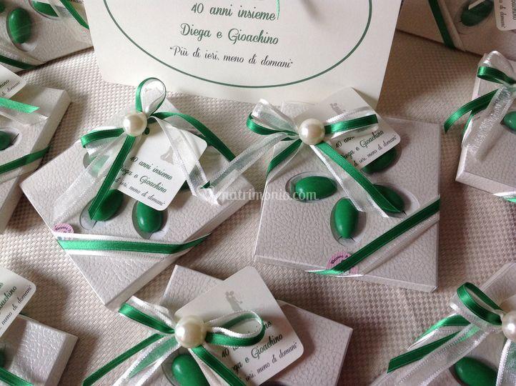 Bomboniere Per Anniversario Di Matrimonio 40 Anni.Fair Lady Bomboniere Artigianali