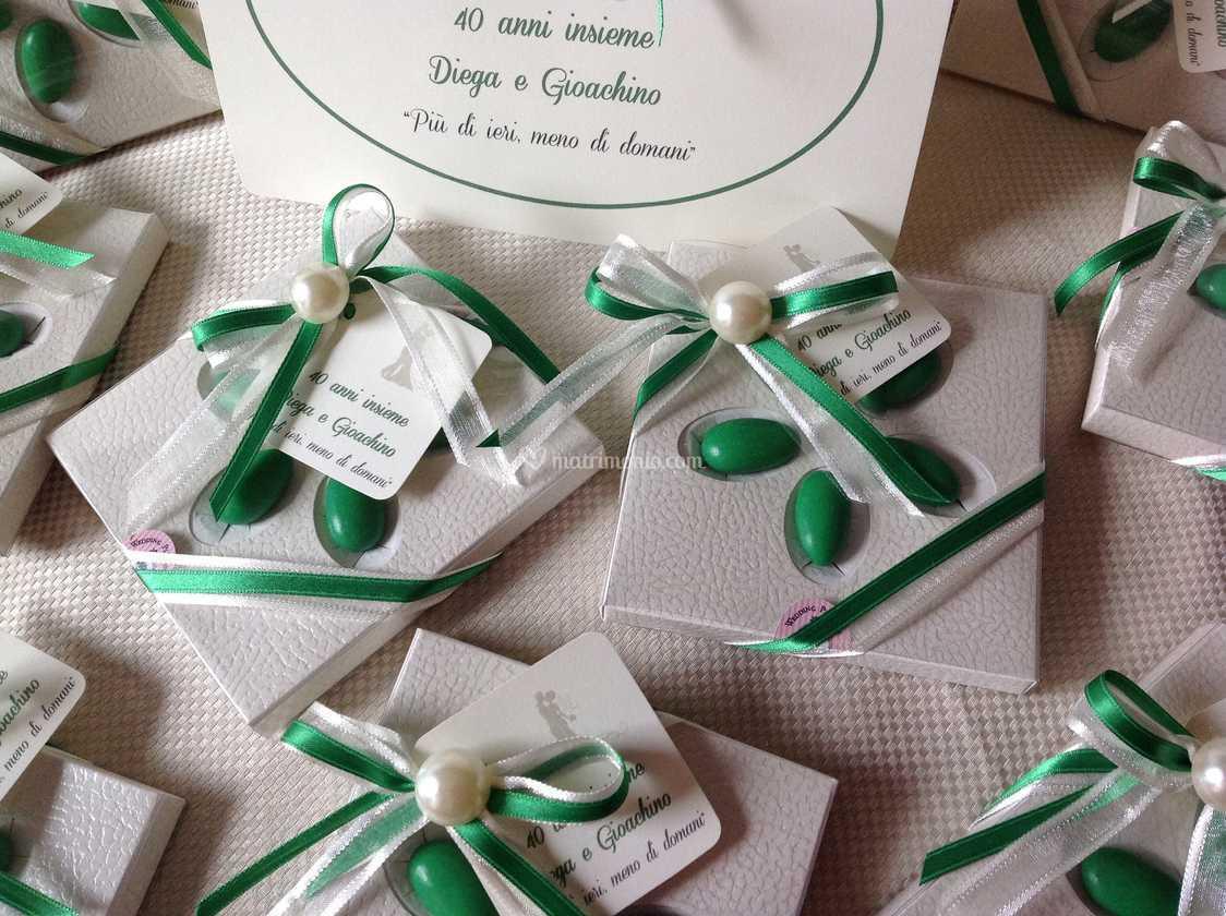 Bomboniere Per Anniversario Di Matrimonio 40 Anni.40 Anniversario Nozze Di Fair Lady Bomboniere Artigianali Foto 23